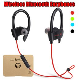 Iphone Stereo Player Australia - 56S Wireless Bluetooth Headphones Headset Sport Stereo Music Player for iPhone X Samsung Android with Retail Package