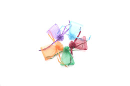Cheap Drawstring Jewelry Bags UK - 200pcs lot Mixed Colors Cheap&Free Shipping Good Quality Organza Bag For Jewelry Gift Packings Drawstring Bags