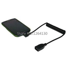 1М 90 градусов под прямым углом Micro USB 5pin OTG разъем для USB женский удлинитель Стретч-кабель для HuaWei Samsung Tablet PC