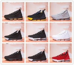 sample shoes men 2019 - 2018 New XVI 16 Sample Black White Red BHM Basketball Shoes for Good quality Mens Athletic 16s Wolf Grey Sports Size 7-1