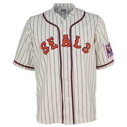 ec6f671d897 San Francisco Seals 1939 Home Jersey Double Stiched Name   Number   Logos  Baseball Jersey For Men Women Youth Customizable