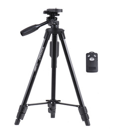 remote shutter control 2019 - wholesale Portable Aluminum Alloy Tripod Wireless Remote Control Shutter with Smartphone Mount for Sony ILDC Phone Digit