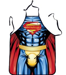 $enCountryForm.capitalKeyWord UK - Sexy Superman Batman digital print apron birthday gift cosplay adult gift props Europe and the United States explosion models
