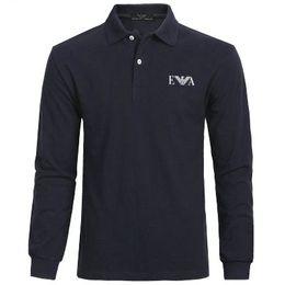 Wholesale t shirt polo sport resale online – 20SS Long sleeves Luxury Eà7 polo shirts Mens Brand summer Male Sweatshirt Mens Hip Hop golf Newest designer Sports t shirts Tracksuit