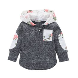 Discount toddler boy coats 4t - Baby Girl Hoodies Infant Toddler Kid Autumn Long Sleeve Floral Hooded Tops Jacket Sweatshirt Coat Outerwear Casual Cloth