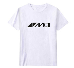 Wholesale sweden women for sale - Group buy Lovers Casual Loose Avicii Print T shirt Men Women Summer Short Sleeved Hip Hop Tees Sweden DJ Avicii Fashion Tshirt Male Tops Wear