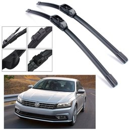 Wholesale Bracketless Car Wiper Blade Refresh Windscreen para 2016-2018 Volkswagen Passat