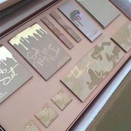 Venda imperdível!! Conjunto de Maquiagem de alta Qualidade Eu Quero Todo o Pacote de Férias Edição Grande Caixa Frete Grátis