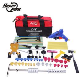 $enCountryForm.capitalKeyWord NZ - Car body repair tool to remove dents PDR tool kit glue gun slide hammer reflector board hand tools set for auto tool kit
