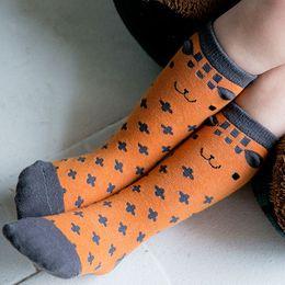 $enCountryForm.capitalKeyWord NZ - Free shipping Cute Cartoon Kids baby Socks 1 Pair High Knee Leg Warmer Girl Boy Toddler Socks infant Soft Cotton socks 0-4 years