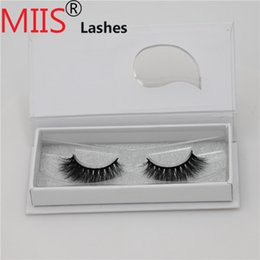 Private Label Falsche Menschenhaar Volumen Wimpern Extensions Custom Verpackung Box