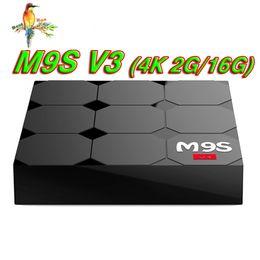 $enCountryForm.capitalKeyWord NZ - M9S V3 3D 4K Android Smart TV Box Multiple USB Interface WIFI HDMI Android6.0 Media Player RK3229 1GB 8GB 2GB 16GB Bluetooth IPTV Box