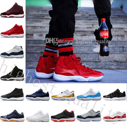 Chinese  Cheap 11 GG Heiress Black Stingray Metallic Gold PRM Women Men Basketball Shoes Sneakers Girls Boy 11s Basket Ball Sport Trainers US 5.5-13 manufacturers