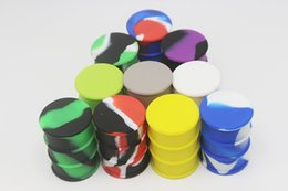 $enCountryForm.capitalKeyWord Australia - DHL Free Silicone Oil Barrel Container Jars Dab Wax Vaporizer Oil Rubber Drum Shape Container 30ml Large Food Grade Silicon Dry Herb