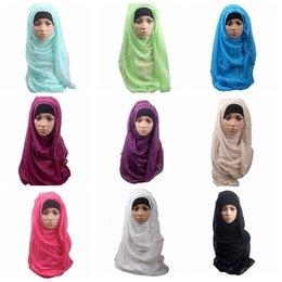 Cover muffler online shopping - 14 Colors Muslim Women Shawl Scarf Long Head Cover Headscarf Muffler Muslim Islamic Wrap Headscarf Neck Full Cover Scarf CCA10206