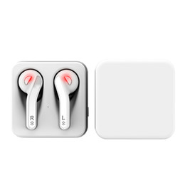 Apple iphone5 heAdset online shopping - Double Ear Stereo Music Earphone Bluetooth Headsets Wireless Earbuds With Charging Box For Apple iPhone5 Android