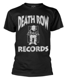 rowing t shirts NZ - Death Row Records' Logo ' (Black) T-Shirt - Neuf et Officiel summer Hot Sale New Tee Print Men T-Shirt Top Quality Cotton Hip