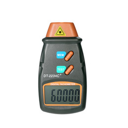 Lcd Digital Tachometer NZ - Handheld LCD Motor Speed Meter Digital Photo Tachometer Laser Non-Contact Tach Range 2.5RPM-99,999RPM with 3pcs Reflective Tape
