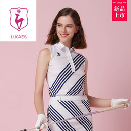 $enCountryForm.capitalKeyWord NZ - lucxes one piece dress golf shirt with skirt lady outdoor sportswear golf apparel sleeveless breathable sports dress slim 200