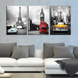 $enCountryForm.capitalKeyWord Australia - Canvas Painting Wall Art Framework HD Prints 3 Pieces Paris Tower New York City Car Landscape Pictures Big Ben Poster Home Decor