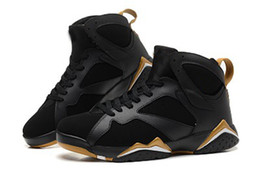 Nike Air Jordan 7 Vii Rétro Or Noir Moments D'or Bijoutiers