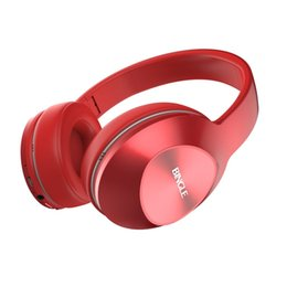Fashionable Wireless Headphones UK - Bingle Fashionable Design Lightweight Wireless Bluetooth Headphone Wear Comfort Music Playing Headset With Microphone