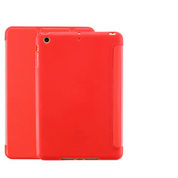 Tablet Pc Folio Case UK - New ipad protective cover pro10.5 silicone Siamese mini3 all inclusive air2 soft shell flat leather case Tablet PC Accessories DHL shipping
