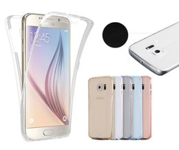 $enCountryForm.capitalKeyWord NZ - For Galaxy S9 S6 S7 S8 S8 Plus Note 8 360 Degree Full Protective TPU Transparent Case Front and Back Cover Touch Case