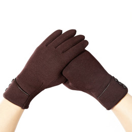 30768475a426 Fashionable Women Winter Outdoor Gloves Sports Cycling Traveling Driving Warmer  Full Finger Gloves Casual Style Touch Screen Ladies Gloves
