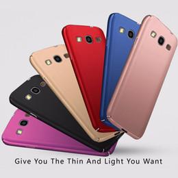 72af12cd6ca 3018 Para Samsung S3 S 3 Funda Slim PC duro Coque plástico para Samsung  Galaxy S3 S III Funda para teléfono I9300 Neo i9301 Duos i9300i  Contraportada