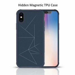 bumper samsung prime 2019 - Lines Design Magnetic Flexible Soft TPU Phone Case Shockproof Bumper Cover For Huawei Mate10 P20 Pro Lite Y6 Y7 Y9 Prime