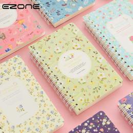$enCountryForm.capitalKeyWord NZ - EZONE Korean Flower Floral Notebook Kawaii Cute Note Book Journals Personal Diary Sketchbook Notepad School Supply Stationery