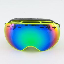 $enCountryForm.capitalKeyWord Australia - Kids Ski Goggles Children Double UV400 anti-fog mask glasses skiing Girls Boys Snowboard windproof goggles Ski equipment