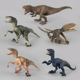 $enCountryForm.capitalKeyWord Australia - Mini Plastic Wild Animal Figures Toys Set Jurassic World Dinosaurs PVC Style Figure Toys Tyrannosaurus Rex Model Decoration Collectable