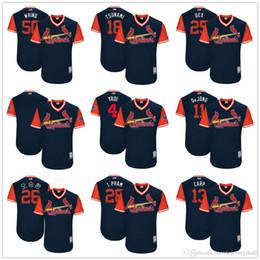 a5ff2d46383 Men s St. Louis Cardinals 4 Yadier Molina