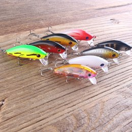 isca lure Canada - 1pcs Fishing Lures Minnow Wobbler Tackle Crankbait Artificial Hard Baits Swimbait Hooks Plastic Pesca Isca Y1890402