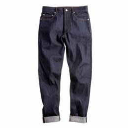 New Mens Raw Denim jeans New 14Oz Selvedge Slim Straight Elasticity Feet Jeans Safari Style Long Straight Trousers casual