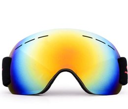 mirrored ski goggles Canada - Sunglasses Men Women Ski Goggles Anti Fog Glasses Adult Motorcycle Glasses Outdoor Sports Windproof Glasses Eyewear for Ski Snowboard Skate