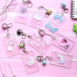 Flamingo Unicorn Pattern portachiavi multifunzione portachiavi con portachiavi per chiavi di plastica per donne Fibbia di alta qualità 3 5 BB