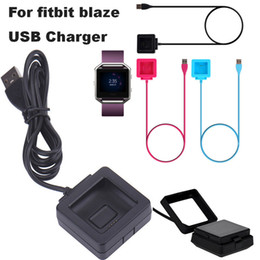 fitness cables Canada - Good Quality USB Charging Cable for Fitbit Blaze USB Power Charger Cord Smart Fitness Watch Wire