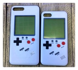 Discount tetris console - Game Console Tetris Gameboy Phone Cases Play Game Console Cover Retro Shockproof Protection TPU Silicone Case For iPhone