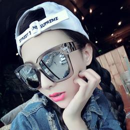Vazrobe 153mm Oversized Óculos De Sol Das Mulheres Homem Espelhado Quadrado  Largo Rosto Óculos de Sol para Mulher Feminino Punk Preto Azul Rosa Hiphop 15473c939e