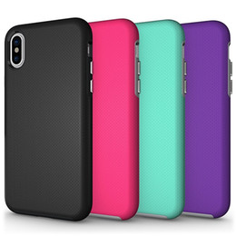 Hot Sales Iphone Case Australia - hot sale cell phone case ultra thin football veins back cover anti-shock flexible tpu pc hybrid bumper case for iphone X