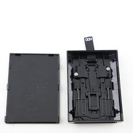 Siyah Sabit Disk Sürücüsü HDD XBOX 360 Slim için Dahili Kasa Muhafaza Shell Kutusu DHL FEDEX EMS ÜCRETSIZ KARGO
