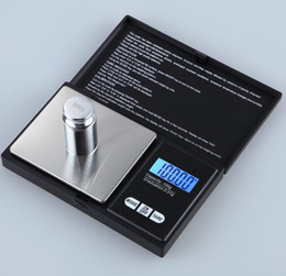 Diamonds Scale Canada - Diamond Jewelry Scale Weigh High Precision Digital Pocket Scale1000g 0.1g Reloading Jewelry and Gems Weigh Scale GL-CS0.1-1000