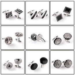 end plates 2019 - Men Character High End Business Style Cuffs White Shirt Accessories Jewelry Wedding Gifts Black Series Classic Steady Cu