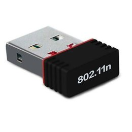 lan computer network Australia - Mini 150M Wifi Wireless USB Adapter IEEE 802.11n LAN Network Card for Computer & Networking retail package