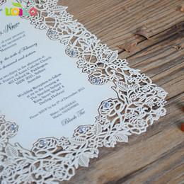lace invitation card designs 2019 - paper laser cutting invitation cards,rose lace design european wedding menu cards cheap lace invitation card designs