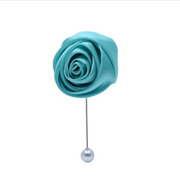 Cloth Bouquet Australia - Cloth flower tassel brooch female accessories sweater coat brooch Korea pin wedding bridal boutonniere