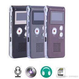 $enCountryForm.capitalKeyWord NZ - Rechargeable 8GB Digital Audio Sound Voice Recorder Dictaphone MP3 Player High Quality Mini Digital USB Voice Recording Pen